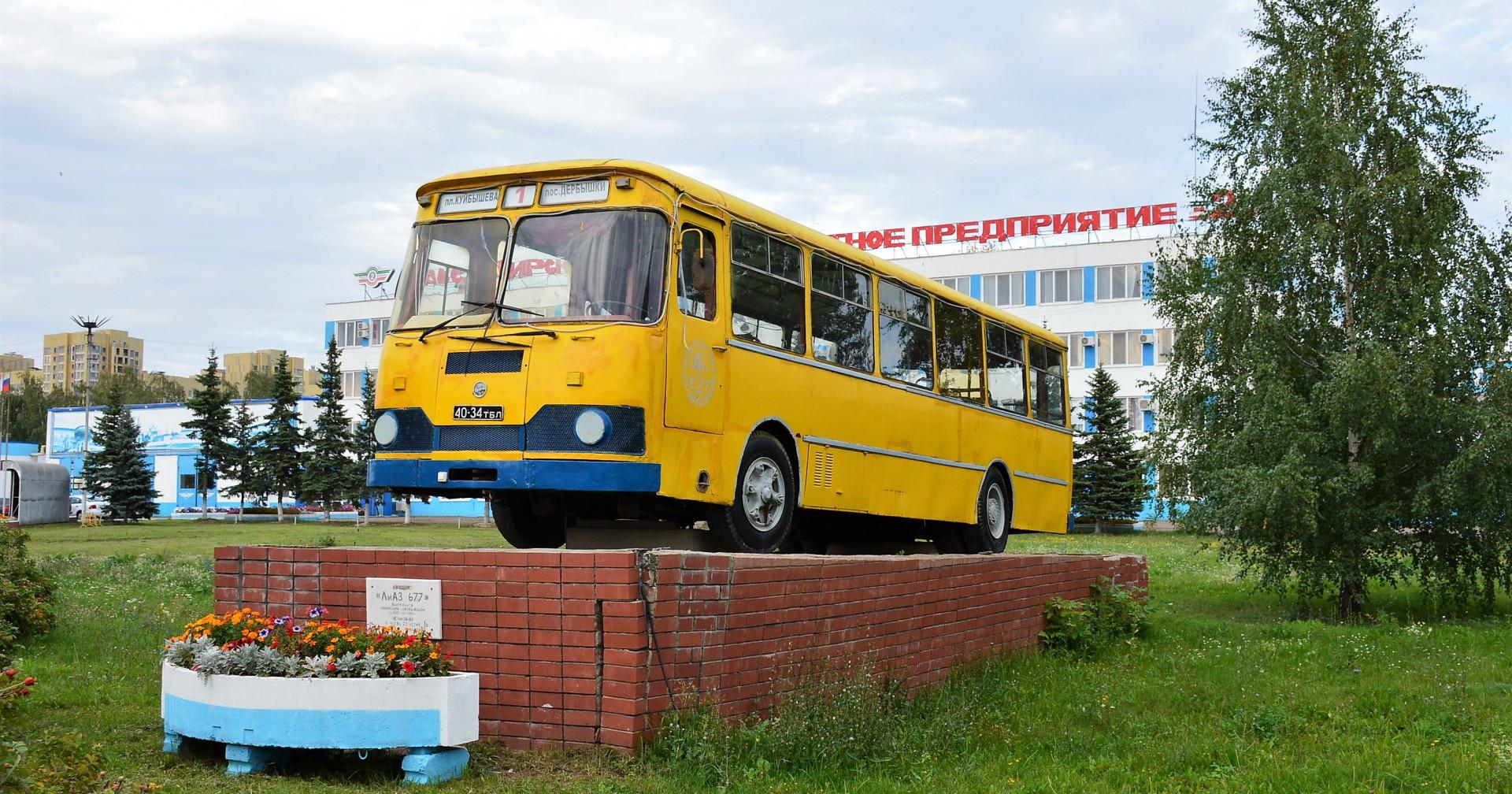 Autobusy sovětské výroby